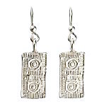 Lexington Brick Earrings