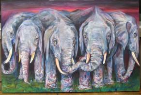 elephants- circle o'