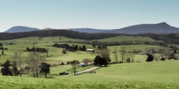 Brownsburg View of Jump Mountain