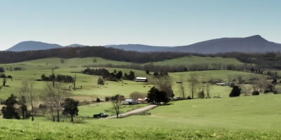 Brownsburg View of Jump Mountain