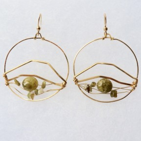 Worth - House Mountain Earrings