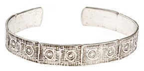 Lexington Brick Silver Bracelet by Worth