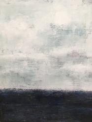 """Summer Thaw, 23""""X29"""" Framed $1,000, By Martha Devening"""