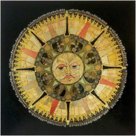"""Sun Mythos"", 36""x36"""