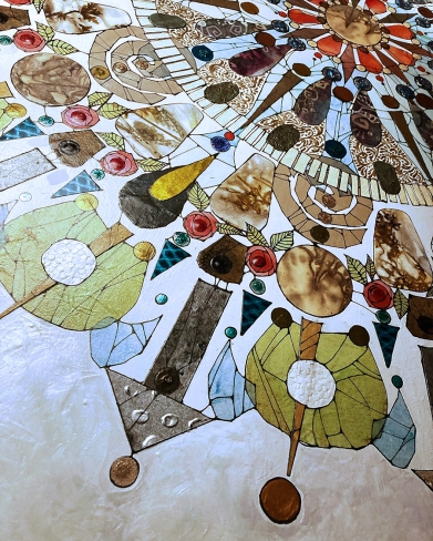 "detail, ""Kaleidoscope II"""